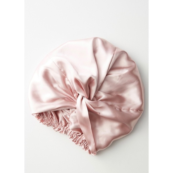 NEW! Slip Silk Sleep Cap in Pink